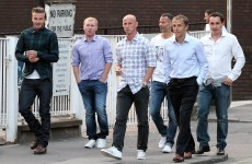 Man United's 'Class of 92′ get back together for a night out