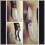 Belt buckle knife discovered at Newark. (Pic: TSA/Instagram)