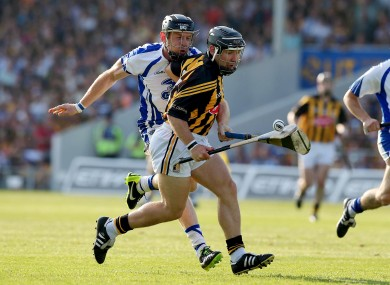 Kilkenny's Richie Hogan and Kevin Moran of Waterford.