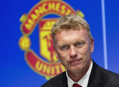 David Moyes lost his first game as Manchester United boss on Saturday.