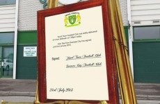 Yeovil mock up their own 'Royal Baby' notice to announce loan signing