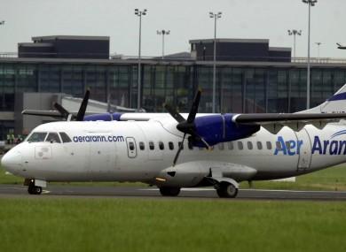 Aer Arann at Dublin Airport
