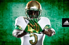 Notre Dame football unveils its flashy new 'Shamrock Series' uniform
