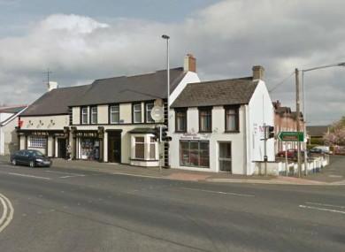 Ballykelly village in Co Derry