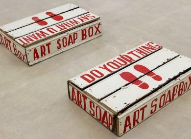 Bob and Roberta Smith, Art Soapbox