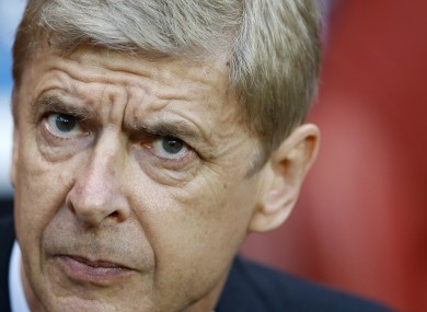 Derby days: Arsenal manager Arsene Wenger faces Spurs tomorrow.