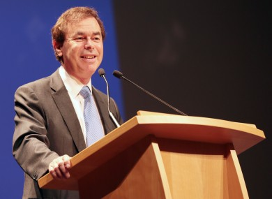 Minister Alan Shatter at a citizenship ceremony last month.