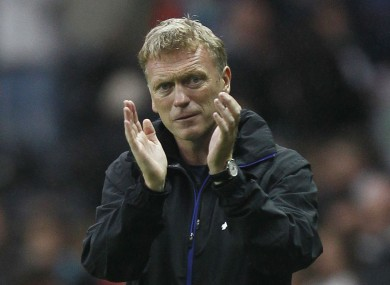 David Moyes: says squad is strong as it is.