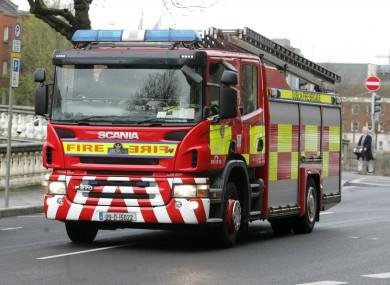 Fire unit (file photo)