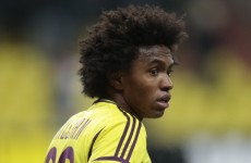 Spurs closing in on Willian as Bale nears exit