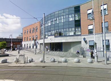 Store Street garda station in Dublin (File photo)