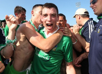 Limerick's Seanie Tobin