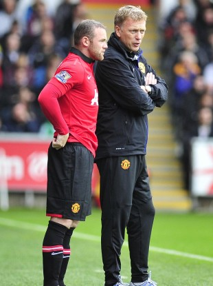 Moyes could gamble on playing Rooney on Monday night.