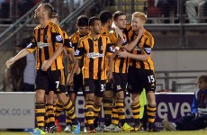 Robbie Brady came off the bench to rescue Hull last night