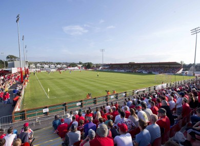 The Showgrounds will host the meeting of Sligo Rovers and Shamrock Rovers.