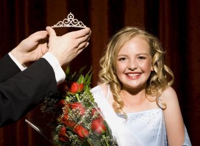 Child beauty contest winner.