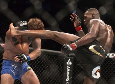Jones and Gustafsson: no immediate re-match on the cards.