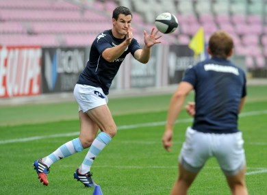 Sexton was crucial in Racing Metro's win over Bordeaux.