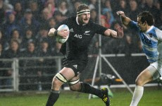 VIDEO: Kieran Read with contender for offload of the year