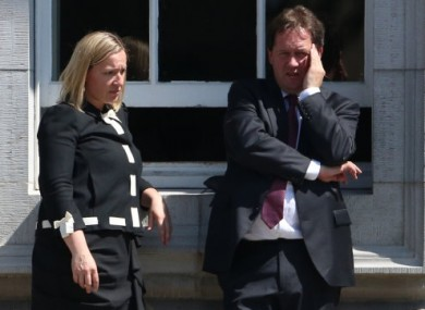 Lucinda Creighton and Paul Bradford