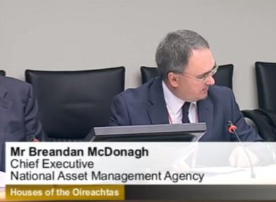 NAMA CEO Brendan McDonagh.