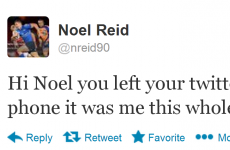 Deary me, Noel! It's the sporting tweets of the week