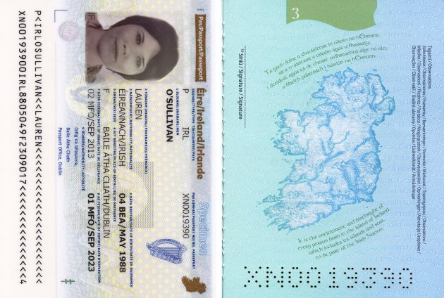 Pics This Is The New Look Irish Passport 183 Thejournal Ie