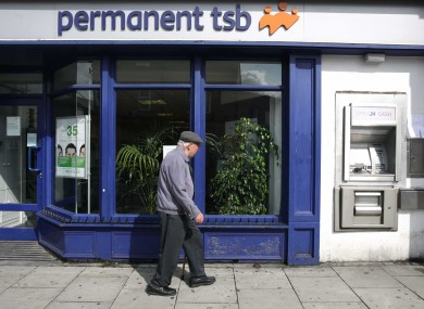 A Permanent TSB branch in Rathmines, Dublin. (File photo)
