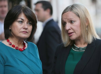 Two Reform Alliance members Fidelma Healy-Eames and Lucinda Creighton