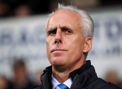Mick McCarthy: I did a good job the last time.