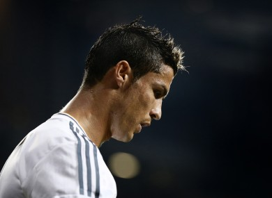 Ronaldo's future was the subject of much speculation during the summer.