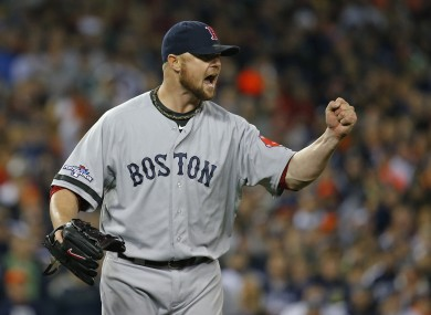 Jon Lester's pitching proved key for the Red Sox in game five.