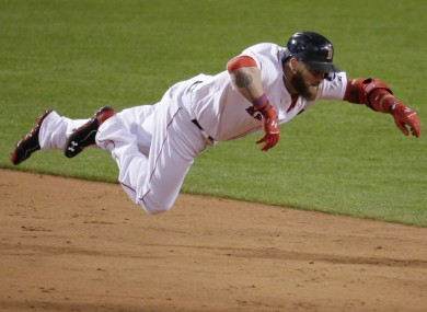 Jonny Gomes was the hero for Boston during Game 4 of the World Series.