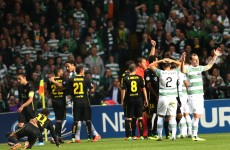 Celtic captain Brown handed three-match ban for kicking out at Neymar
