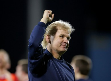 Liam Buckley could see his side clinch the league tomorrow night.
