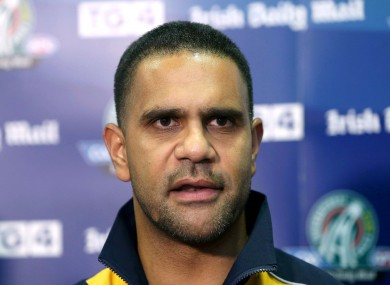 The Aussie International Rules coach is disappointed his side didn't perform better.
