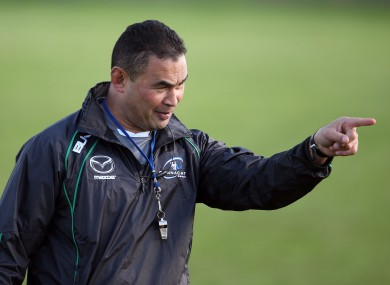 Pat Lam feels he has Connacht pointing in the right direction.