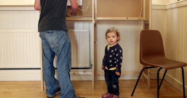 PIC: Low turnout reported as voters decide on Seanad and Court of Appeal