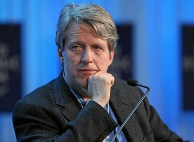 Robert Shiller, one of the three Nobel Prize in Economics winners of 2013.