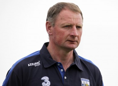 Sean Cullinane, ex-Waterford player and selector.