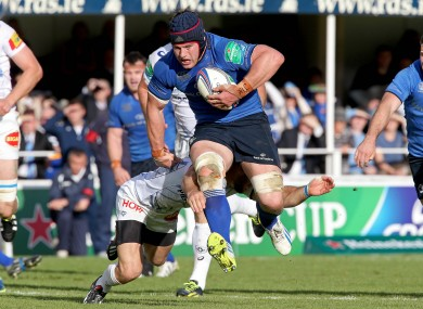 O'Brien on the charge in the win against Castres.