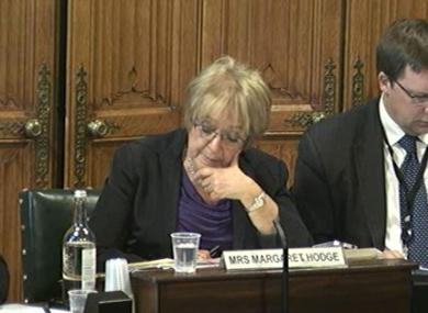 Commons' Public Accounts Committee chairwoman Margaret Hodg