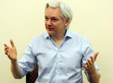 Wikileaks Editor-in-Chief Juilan Assange.