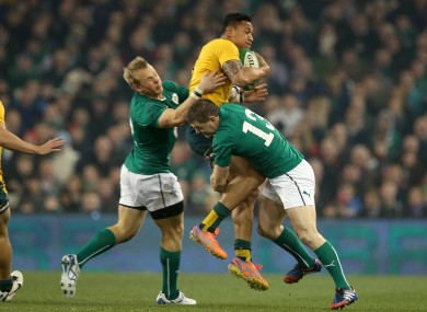 Ireland's defence gave up soft tries against last weekend.