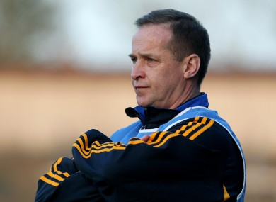 Cratloe's triumphant manager Colm Collins - file photo.