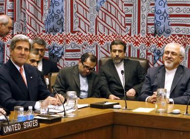 Mohammad Javad Zarif and Joh
