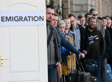 youth emigration Despite a slight drop in the numbers leaving the country in search of work abroad last year, youth emigration of highly-skilled and highly educated young irish people continues at very high levels amidst growing international competition for particular skills, how can we incentivise return.