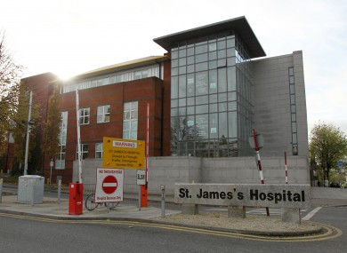 St James's Hospital, where the new hospital will be located.