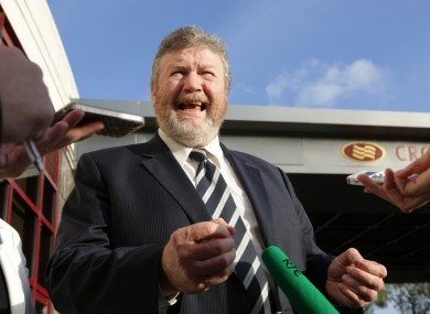Minister for Health James Reilly