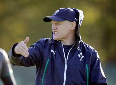 Joe Schmidt's Ireland will face three higher ranked teams this month.